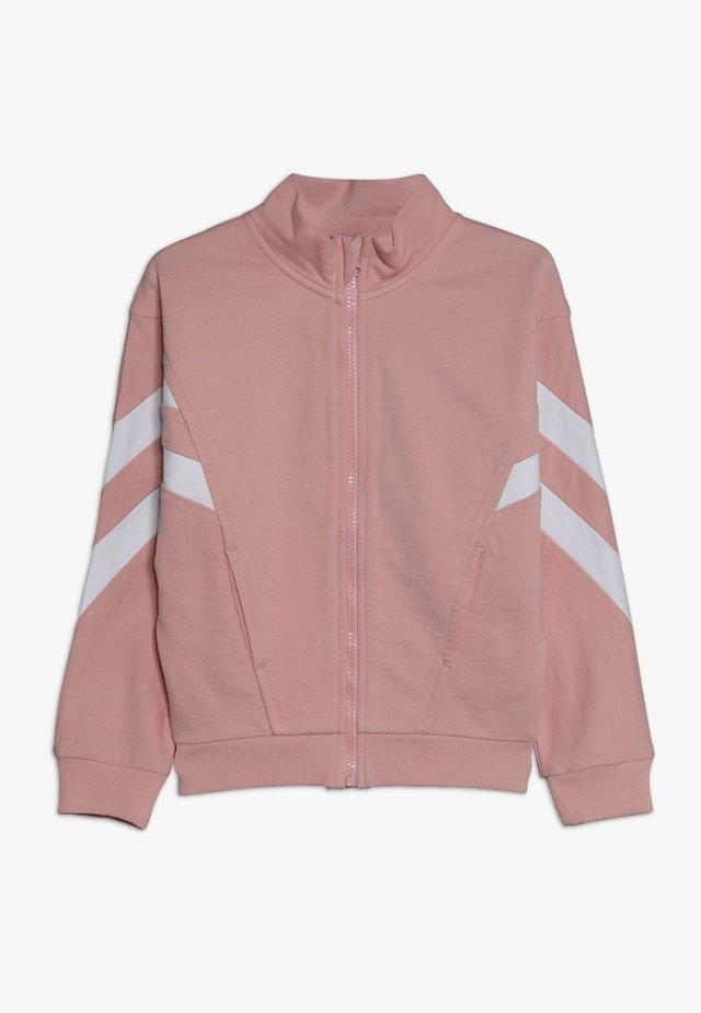 Sweatjacke - powder pink