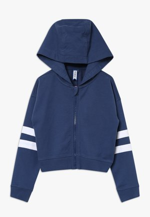 Zip-up hoodie - true navy