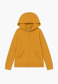 Friboo - 2 PACK - Zip-up hoodie - light grey melange/mineral yellow - 2