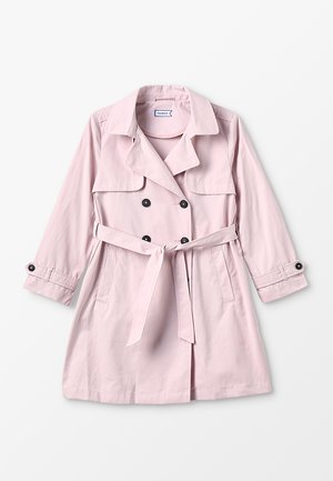 Trenčkot - chalk pink