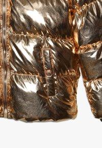 Friboo - Zimní bunda - copper metallic - 4