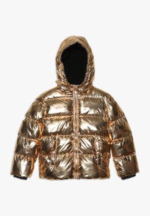 Kurtka zimowa - copper metallic