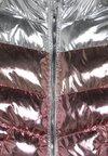 Friboo - Chaqueta de invierno - rosegold metallic/silver metallic