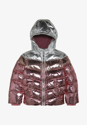 Chaqueta de invierno - rosegold metallic/silver metallic