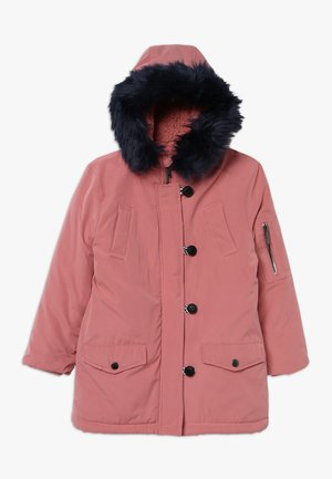 Winter coat - dusty rose