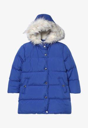 Zimní kabát - dazzling blue