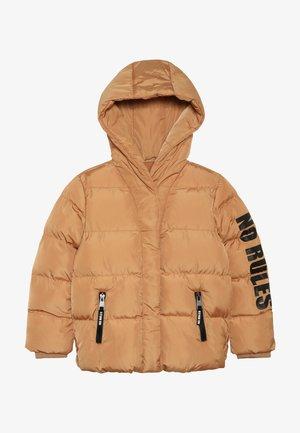 Winter jacket - biscuit