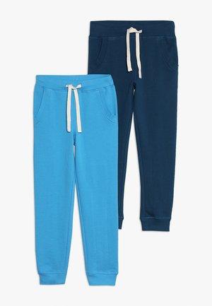 2 PACK - Träningsbyxor - swedish blue/poisedon