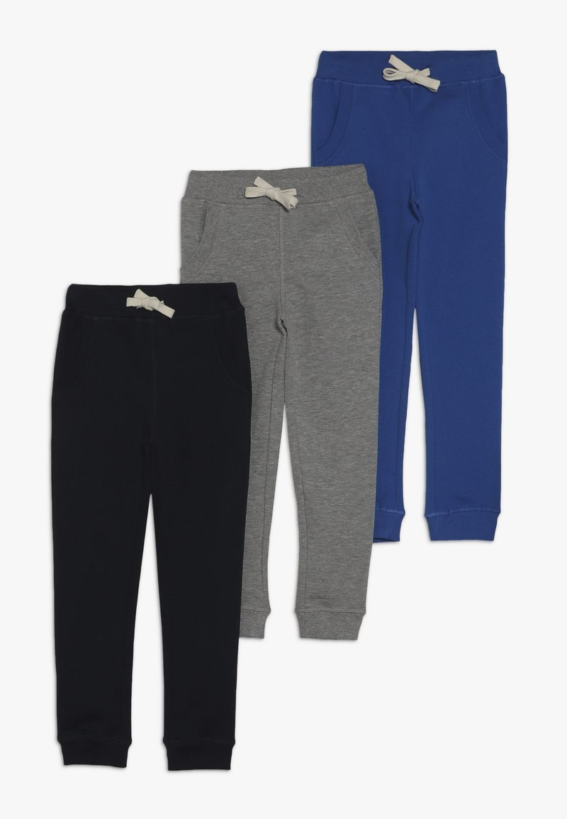 Friboo - 3 PACK - Pantaloni sportivi - turkish sea/grey marl/navy