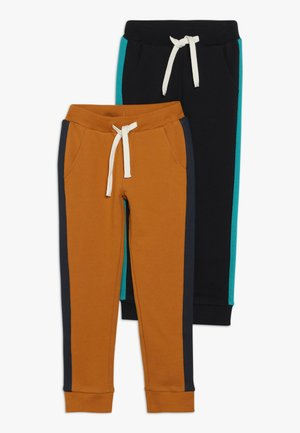 2 PACK - Pantalones deportivos - brown/anthracite