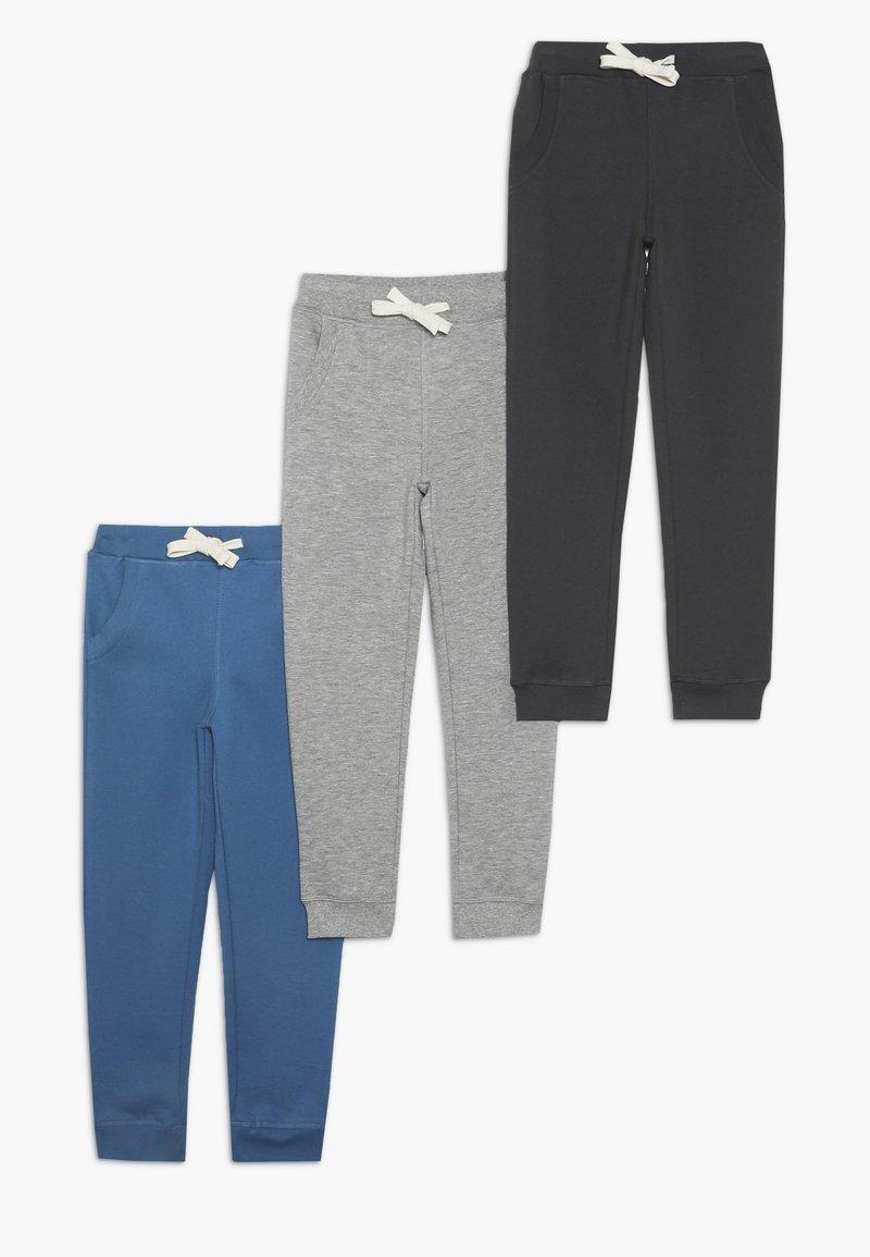 Friboo - Træningsbukser - light grey melange/vallarta blue