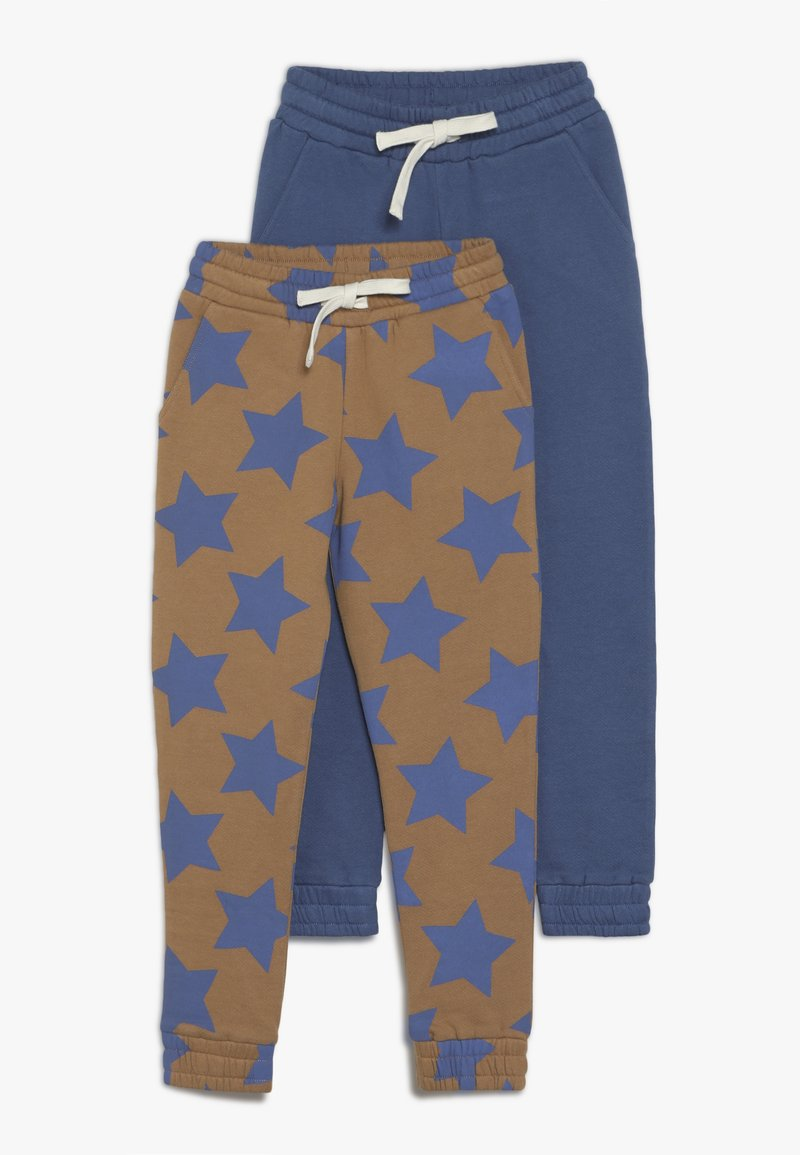 Friboo - 2 PACK - Tracksuit bottoms - thrush/true navy