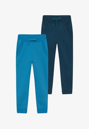 BOYS 2 PACK - Pantaloni sportivi - swedish blue/poisdeon