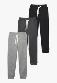 Friboo - 3 PACK - Pantalones deportivos - anthracite/heather grey/nine iron - 0