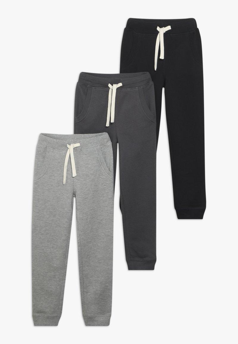 Friboo - 3 PACK - Pantalones deportivos - anthracite/heather grey/nine iron