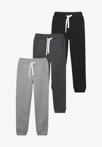 Friboo - 3 PACK - Pantalones deportivos - anthracite/heather grey/nine iron - 3