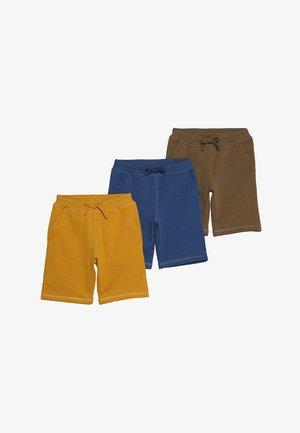 3 PACK - Teplákové kalhoty - mineral/yellow