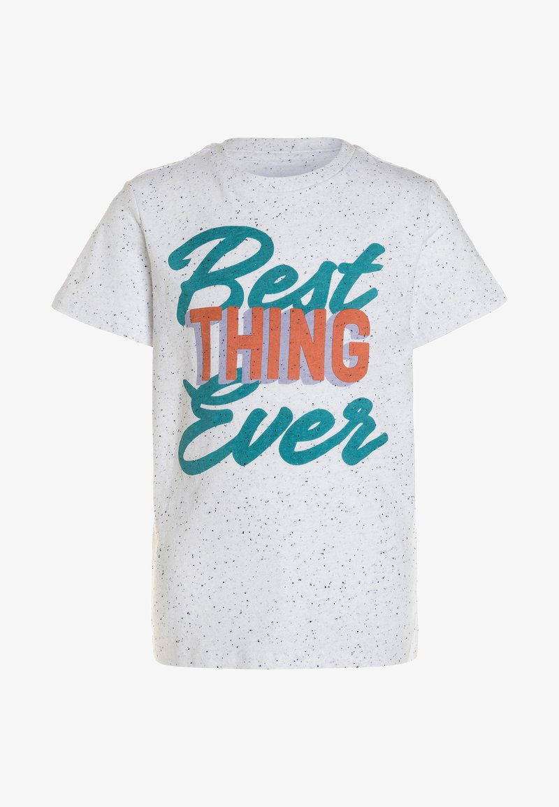 Friboo - Print T-shirt - white
