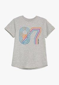 Friboo - Print T-shirt - light grey marl - 0