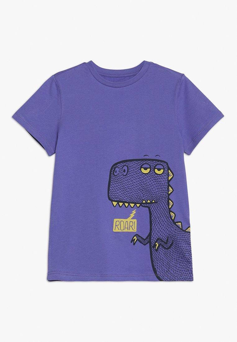 Friboo - ROAR SLEEPY DINO - T-shirts print - purple opulence