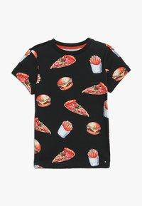 Friboo - T-shirt con stampa - black iris - 0