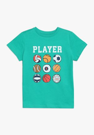 PLAYER BALL - Print T-shirt - emerald