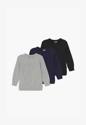 3 PACK  - Sweater - black navy