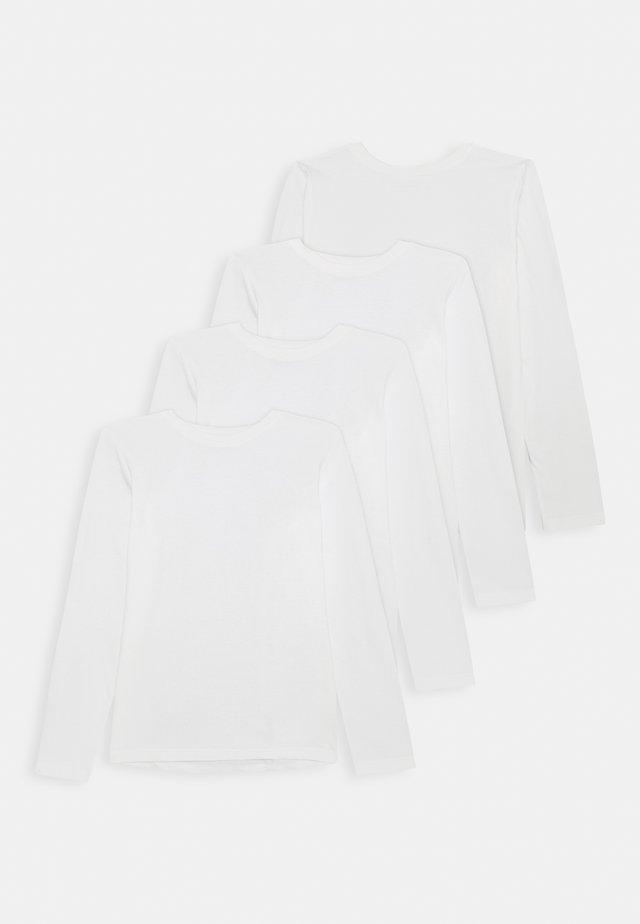 4 PACK  - Long sleeved top - winter white