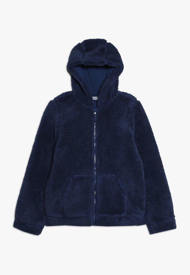 Fleecová bunda - true navy
