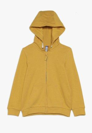 Bluza rozpinana - mineral yellow
