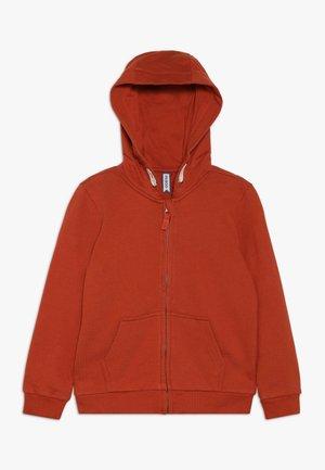 veste en sweat zippée - mecca orange