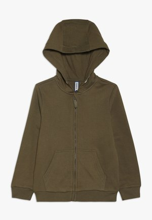Zip-up hoodie - military olive