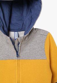 Friboo - Hoodie met rits - light grey/mineral yellow - 3