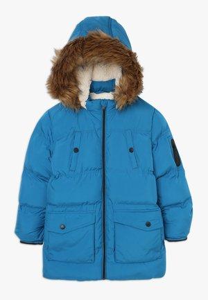Zimní kabát - mykonos blue