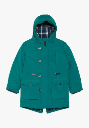 Winter coat - teal green