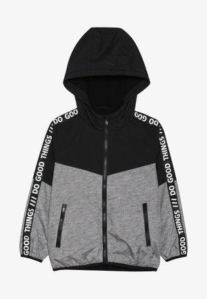 Light jacket - mid grey melange/anthracite