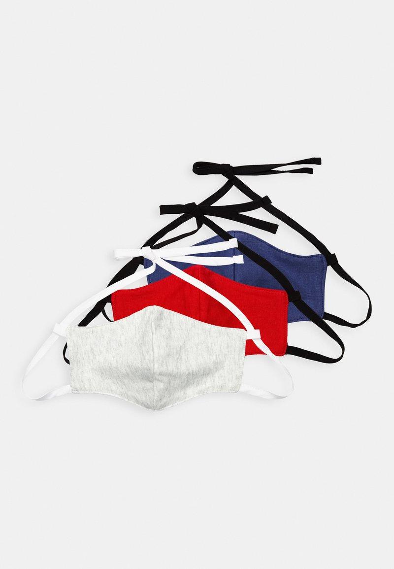 Friboo - 3 PACK - Masque en tissu - dark blue/red/white