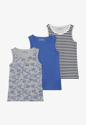 3 PACK - Camiseta interior - strong blue