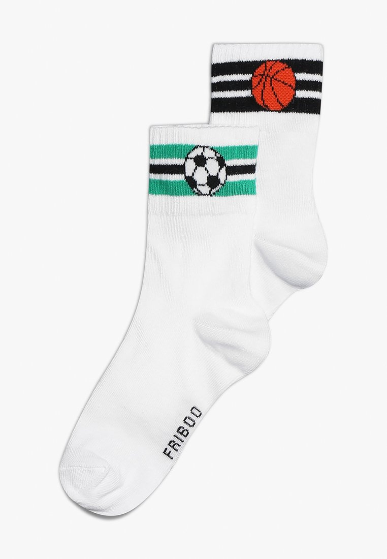 Friboo - 2 PACK - Socks - bright white/multicoloured