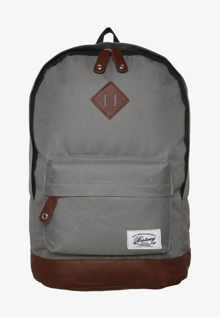 Fabrizio - BESTWAY UNI - Rugzak - grey/brown