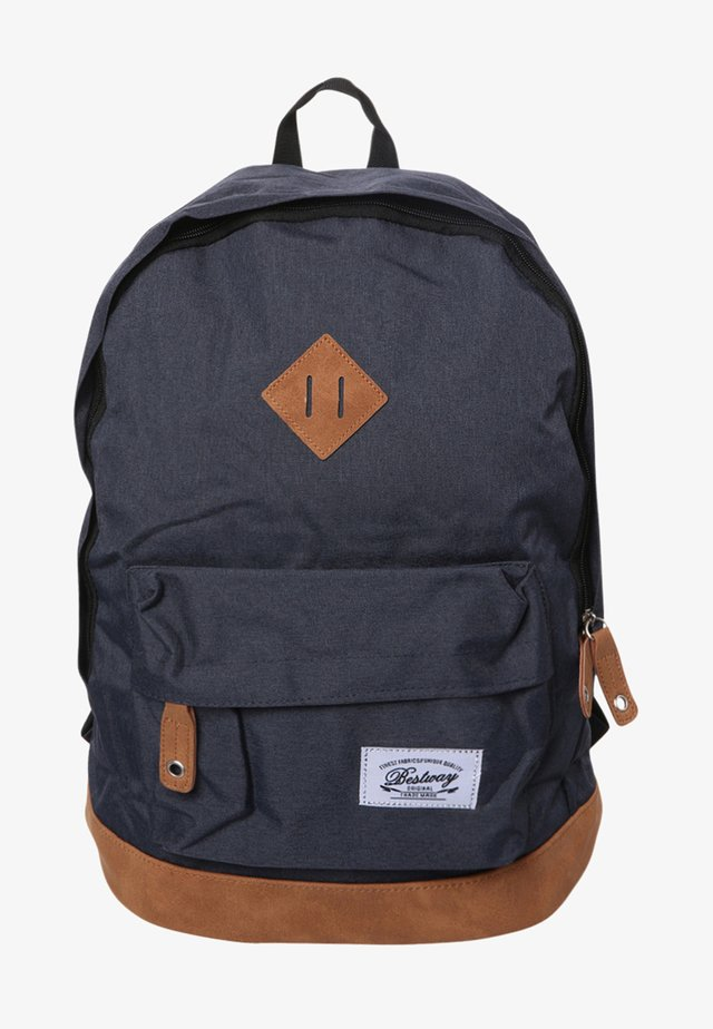 BESTWAY BACKPACK - Tagesrucksack - dark blue