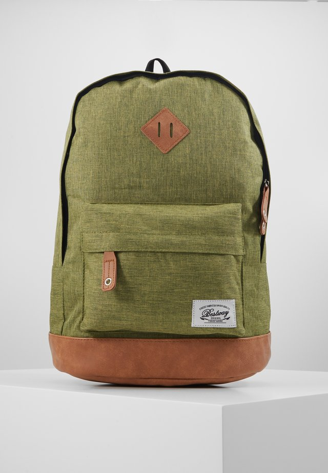 BESTWAY BACKPACK - Tagesrucksack - dark green