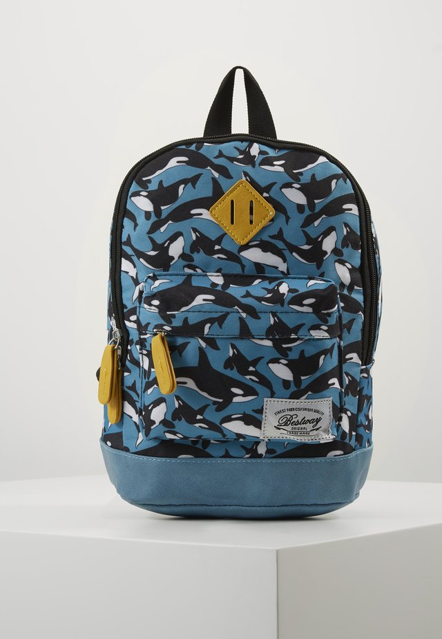 BESTWAY KINDERGARTENBACKPACK - Sac à dos - dove blue/ochre