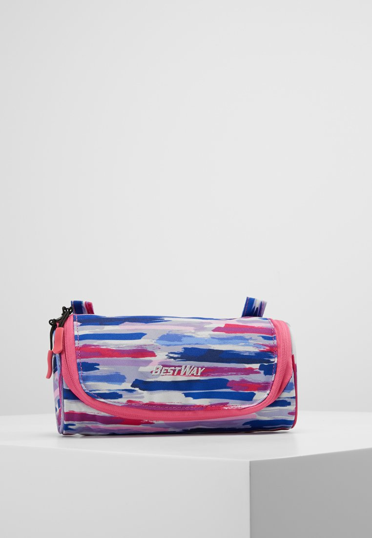Fabrizio - BEST WAY CASE - Etui - dark blue/pink