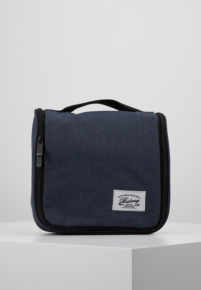 Fabrizio - BEST WAY KULTURTASCHE - Handtasche - blau