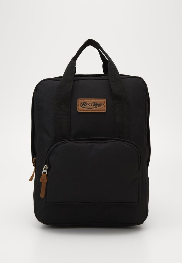BEST WAY BACKPACK - Skoletasker - black