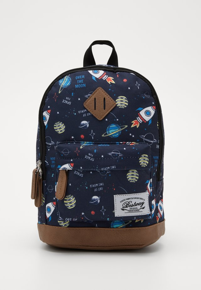 BESTWAY KINDERGARTENBACKPACK - Sac à dos - navy blue