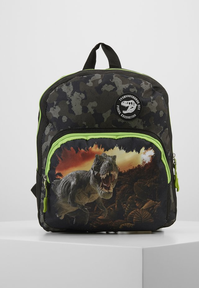 FABRIZIO KIDS DINOSAUR BACKPACK - Sac à dos - black