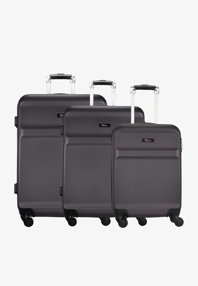 WINGS - Luggage set - dark grey