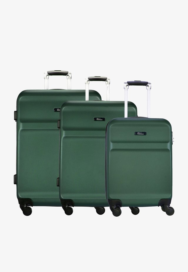 WINGS - Luggage set - green